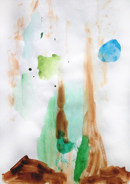 3/2014, watercolour on paper, 21x29,7 cm, 2014