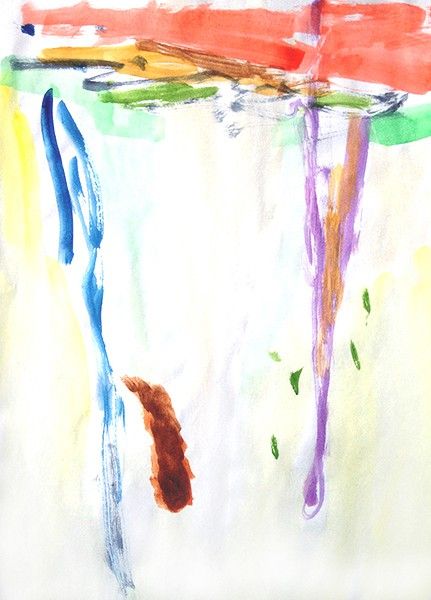 7/2014, watercolour on paper, 21x29,7 cm, 2014