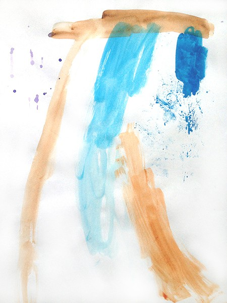 1/2014, watercolour on paper, 21x29,7 cm, 2014