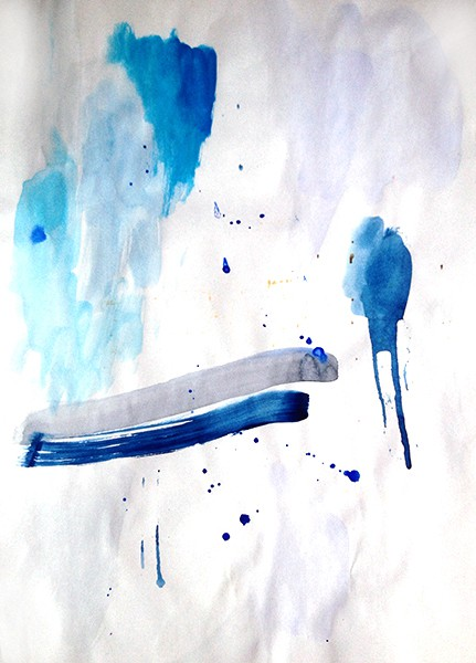 6/2014, watercolour on paper, 21x29,7 cm, 2014