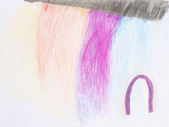 Landschaft mit Tor, pencil on paper, 297x420mm, 2013